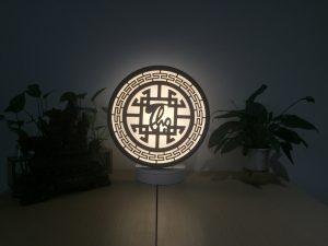 Đèn tam quang chữ Thọ_Việt