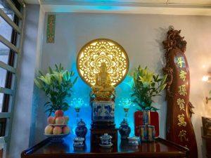 Đèn tam quang Mandala